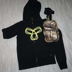 Aritzia Tna Zip-up Hoodie & waist-pack Bundle $43